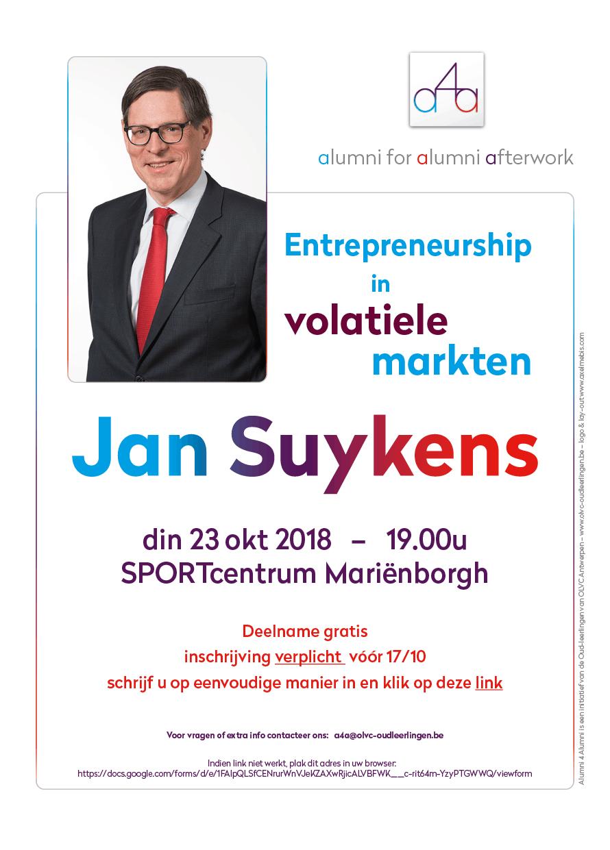 a4a affiche Jan Suykens