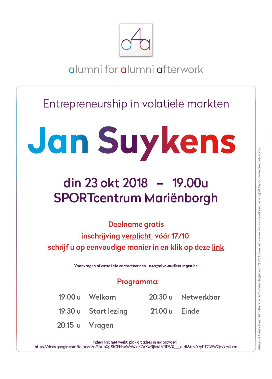 a4a affiche Jan Suykens 2